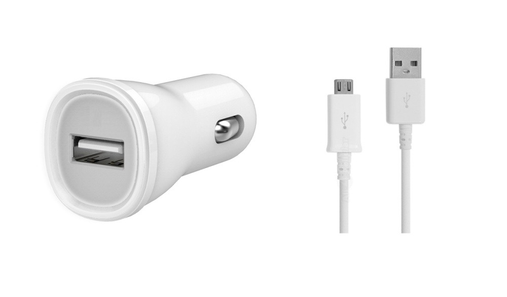 Car Charger for Samsung Galaxy Pocket Neo Duos S5312 with USB Cable