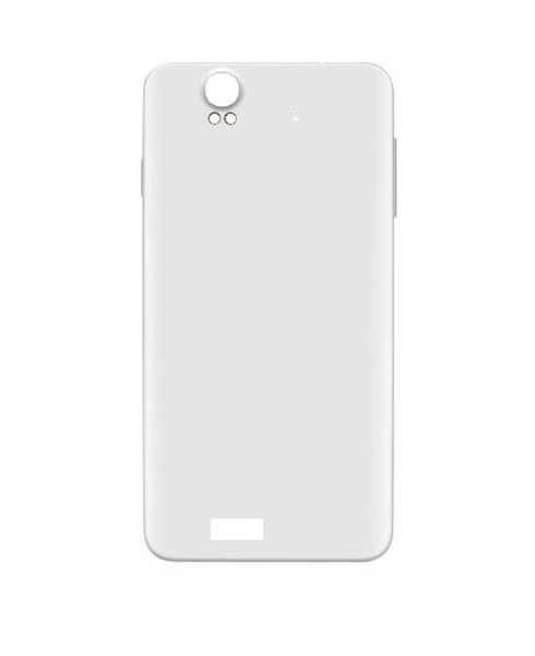 Back Panel Cover For Lava Iris X5 White - Maxbhi.com