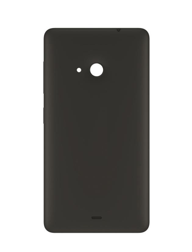 finest selection 49dda 1151d Back Panel Cover for Microsoft Lumia 535 - Black