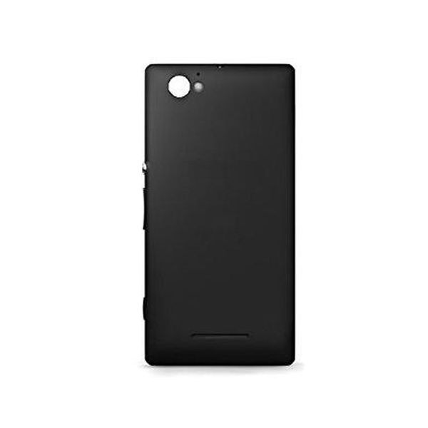 sports shoes 0d340 d7523 Back Panel Cover for Sony Xperia M C2004 - Black