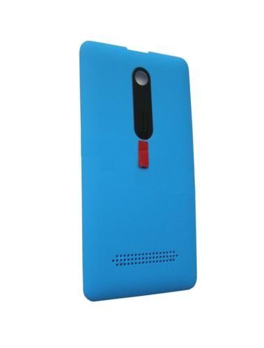 Back Panel Cover For Nokia Asha 210 Dual Sim Cyan - Maxbhi.com