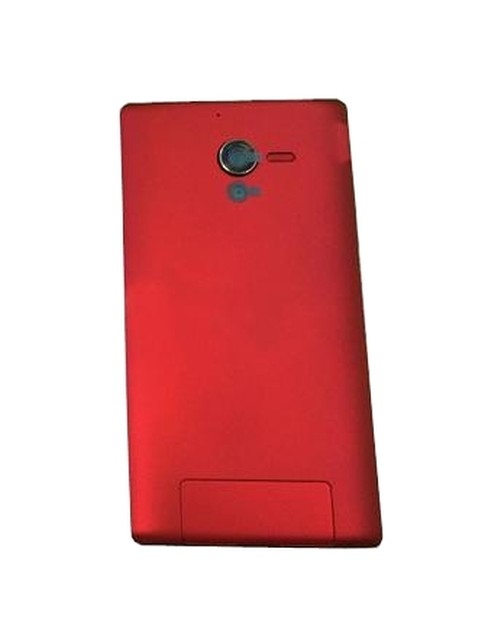 on sale b98d2 20018 Back Panel Cover for Sony Xperia ZL C6502 - Red