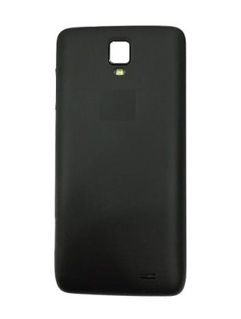 promo code fdce2 19576 Back Panel Cover for Micromax Bolt Q333 - Black