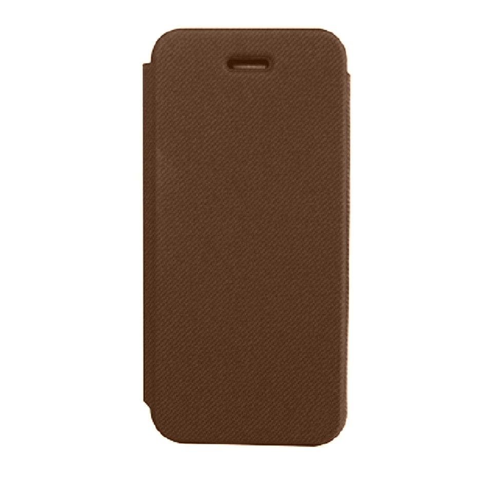 Flip Cover For Apple Iphone 5 5g Brown - Maxbhi Com