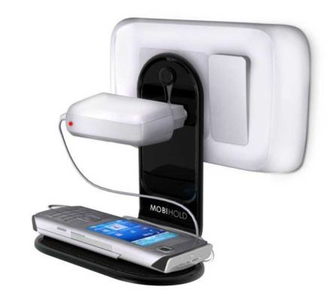 Mobile Holder For HTC Desire 600 Dual Sim White