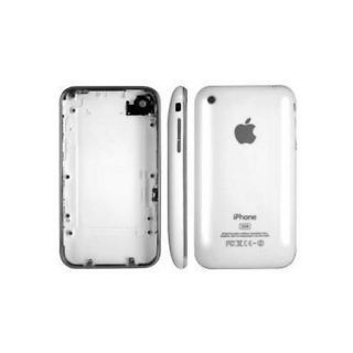 Back Cover for Apple iPhone 3GS White