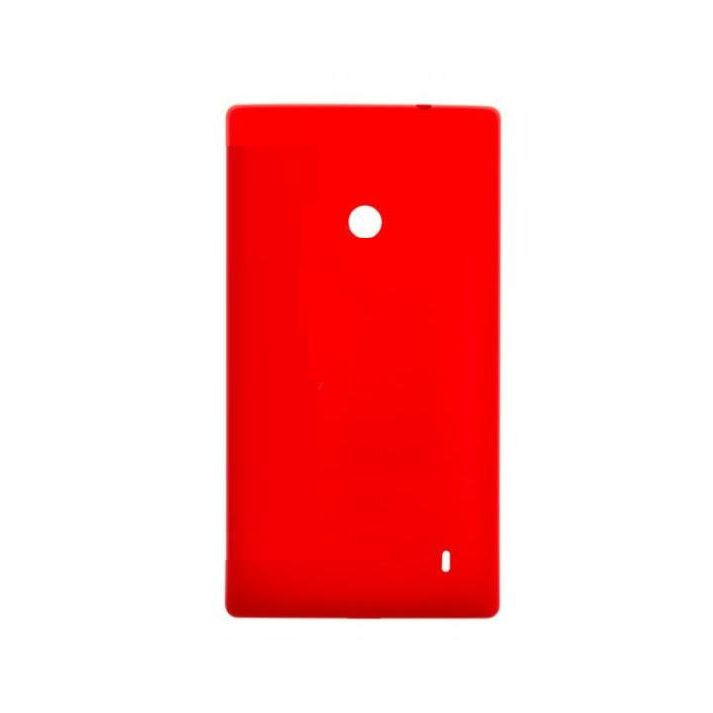 free shipping d6e2d d5b20 Back Panel Cover for Nokia Lumia 520 - Red