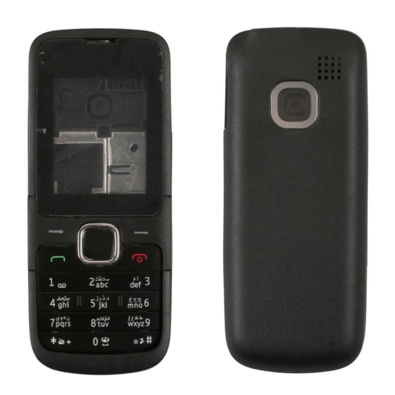 new arrival b03c5 af90b Full Body Housing for Nokia C1-01 - Black