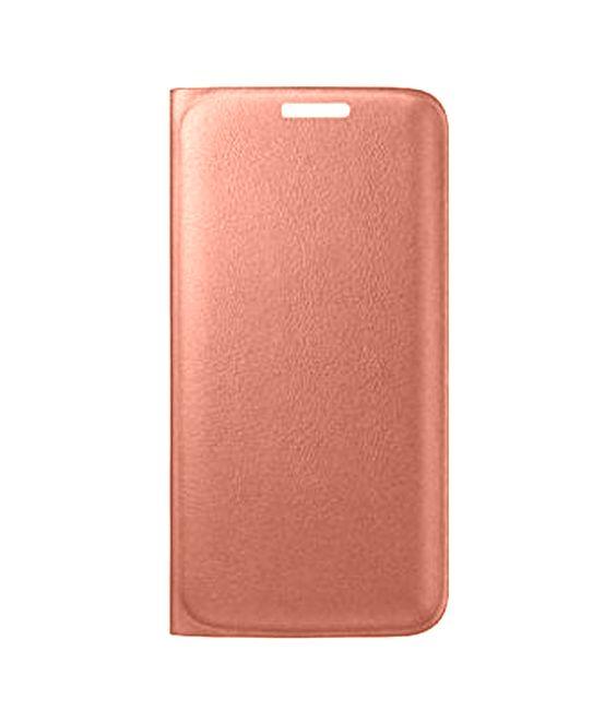 designer fashion 5a77b e13d1 Flip Cover for Apple iPhone SE - Rose Gold