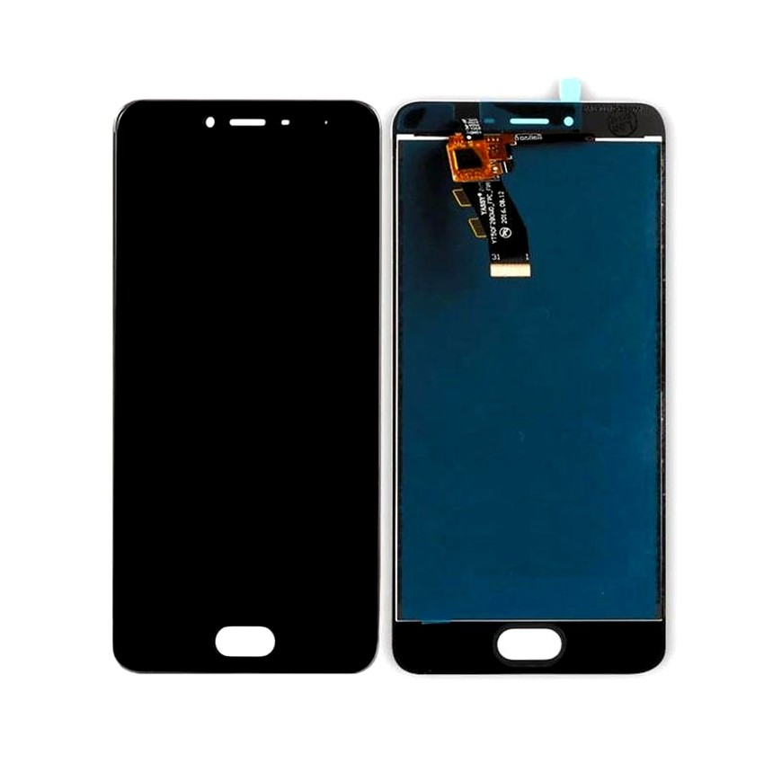 LCD with Touch Screen for Meizu m3s - Grey (display glass combo folder)