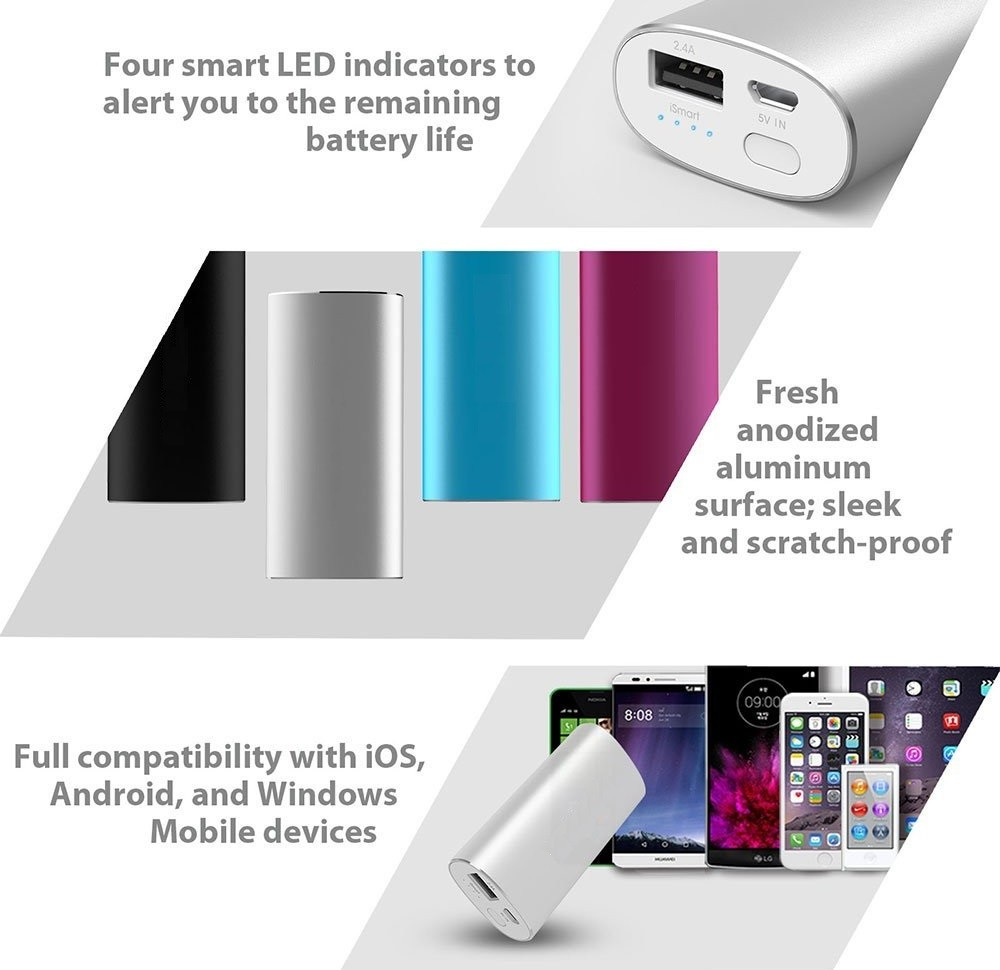5200 mAh Power Bank by Maxbhi.com - Features