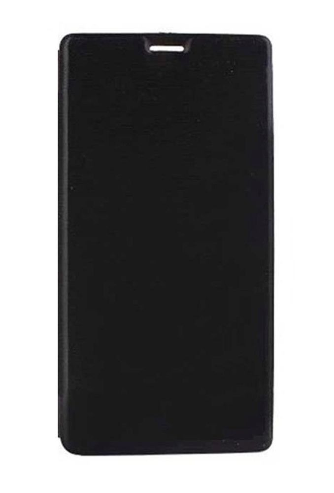 new product bdaf0 ce642 Flip Cover for Micromax Bolt Q327 - Blue