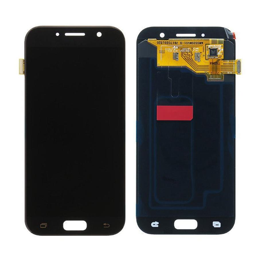 Lcd With Touch Screen For Samsung Galaxy A5 2017 Black By - Maxbhi Com ...