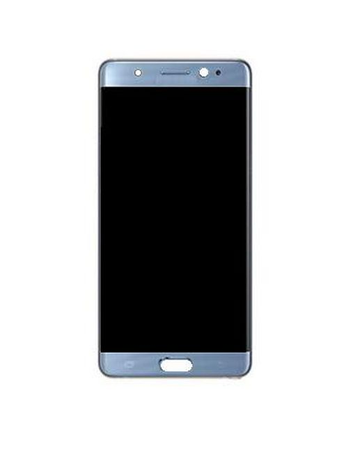 Lcd With Touch Screen For Samsung Galaxy Note 7 Blue By - Maxbhi.com