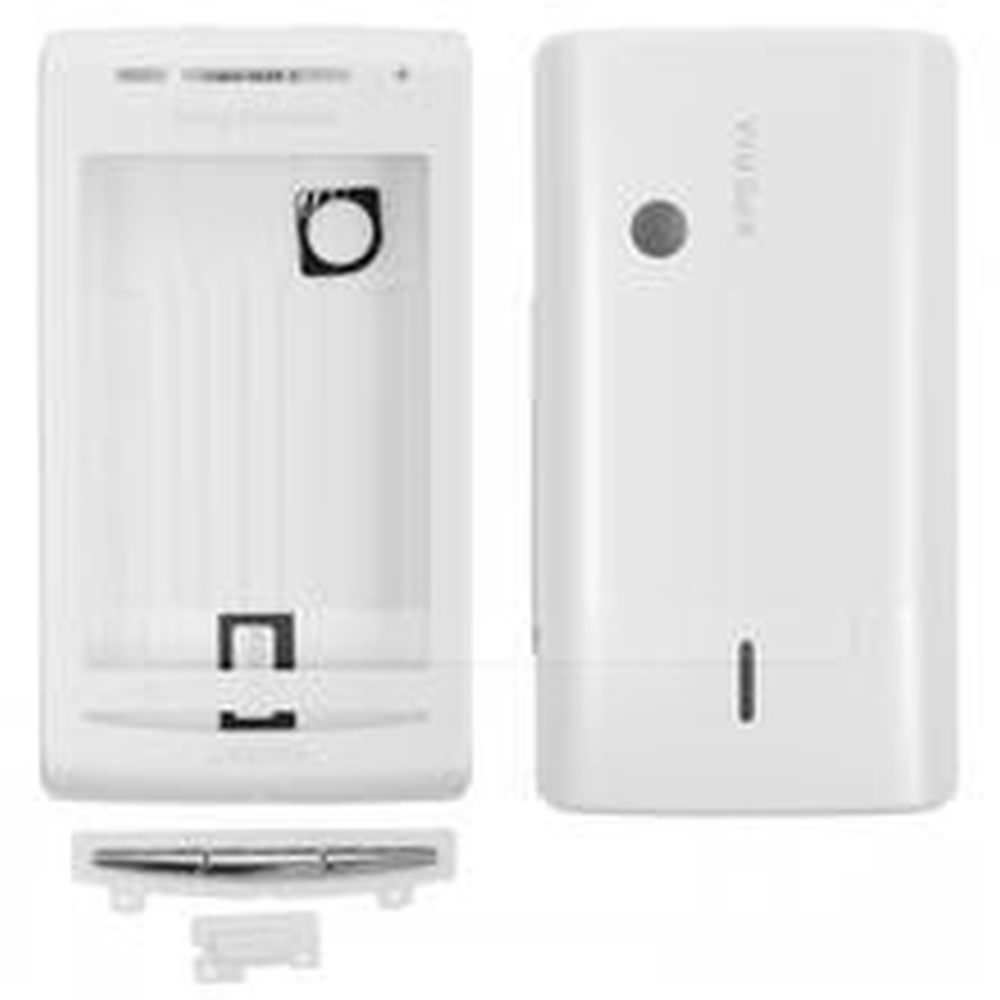 sony ericsson xperia x8. full body housing for sony ericsson xperia x8 e15i white