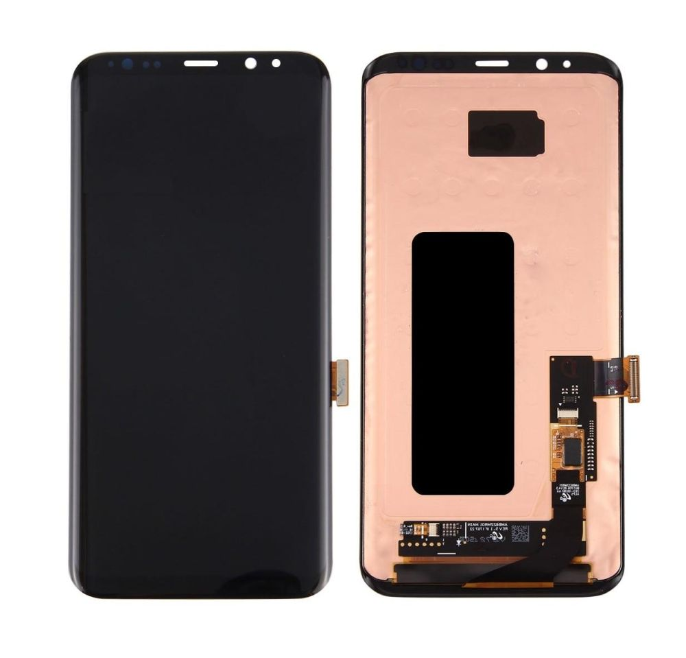 Lcd With Touch Screen For Samsung Galaxy S8 Plus Grey By - Maxbhi Com