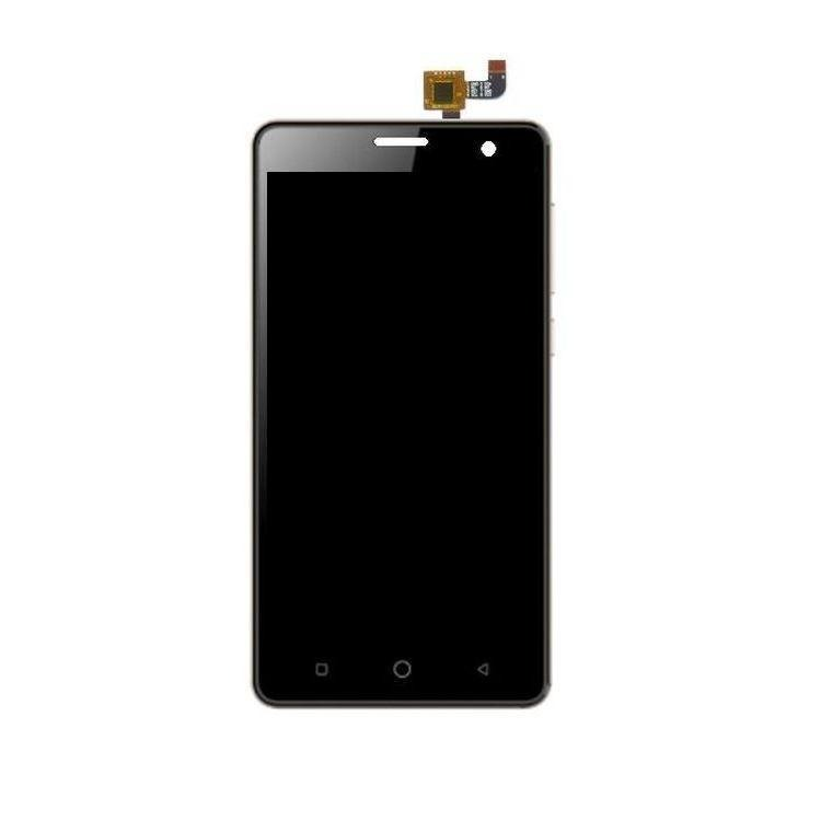 LCD with Touch Screen for Itel it1508 Plus - Black (display glass combo  folder)