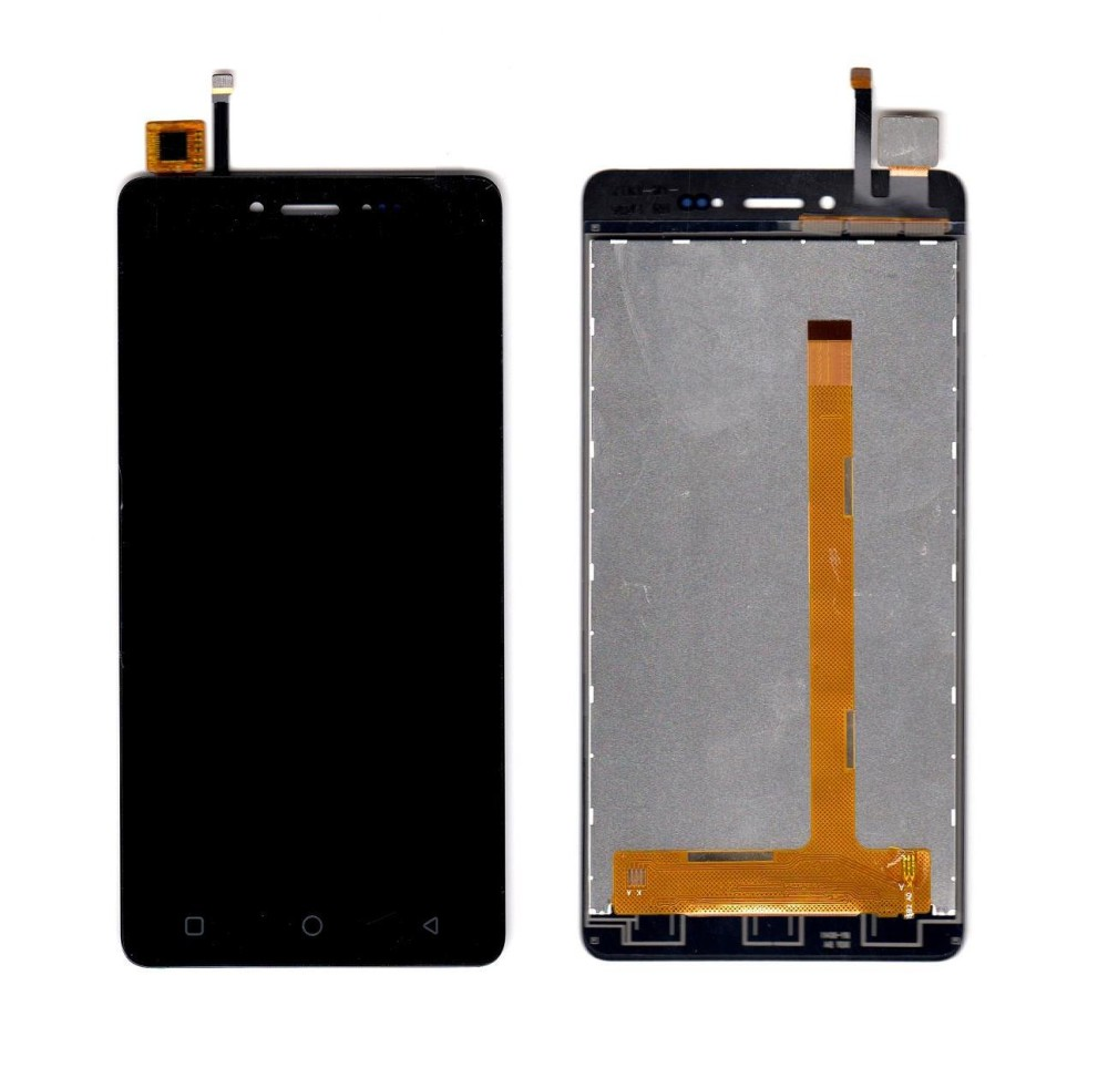 Lcd With Touch Screen For Karbonn Aura 4g Brown By - Maxbhi Com