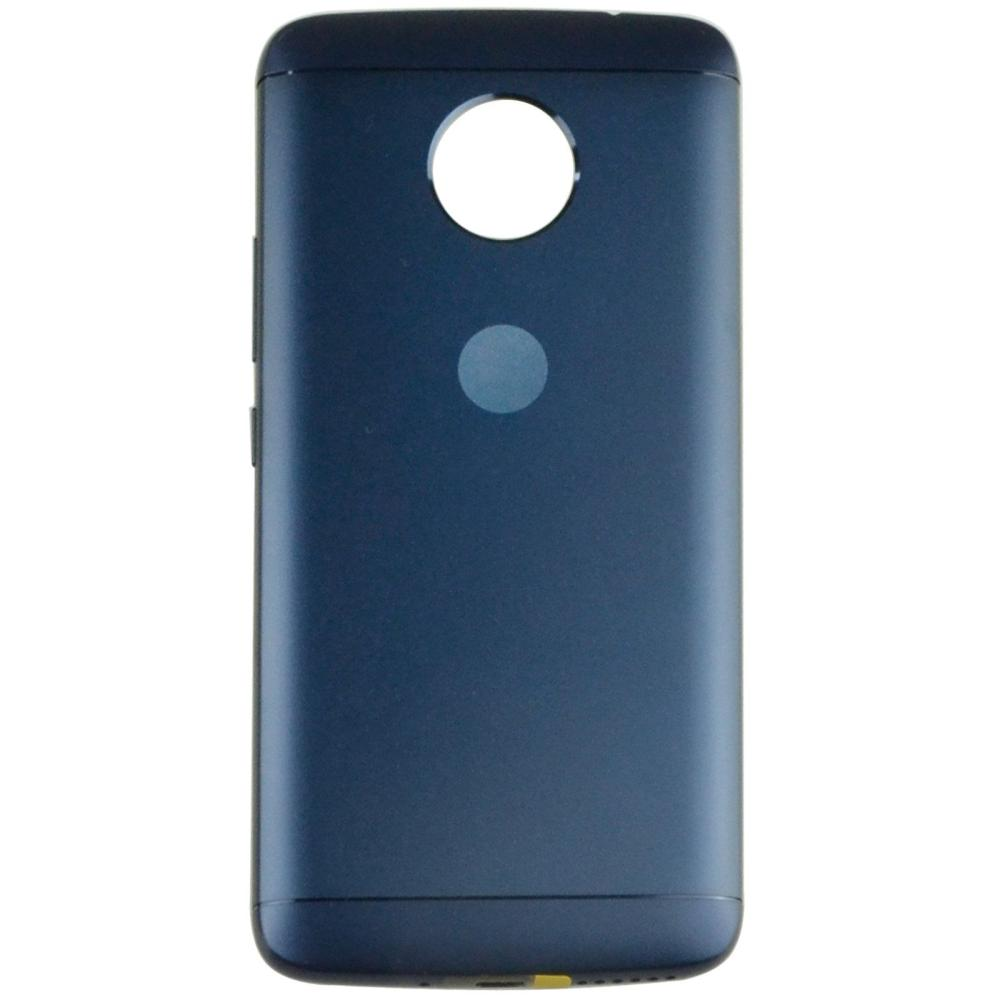 new styles 7af6c f8f28 Back Panel Cover for Moto E4 Plus 32GB - Blue
