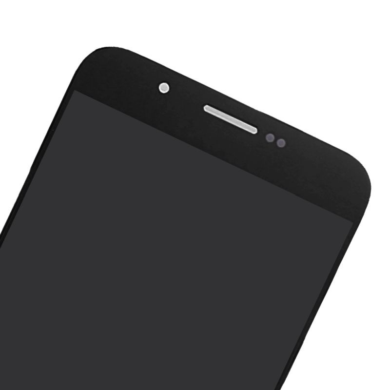 LCD with Touch Screen for Samsung Galaxy A8 Duos - Black (display glass  combo folder)