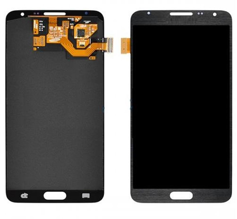 LCD with Touch Screen for Samsung Galaxy Note 3 Neo - Black (complete assembly folder)