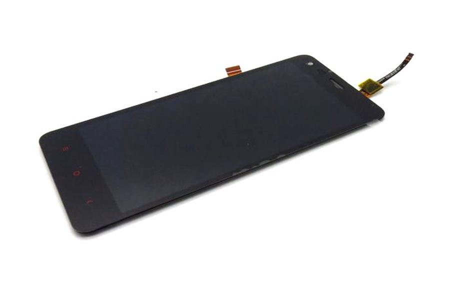 LCD with Touch Screen for Xiaomi Redmi 2 Prime - Grey (complete assembly folder)