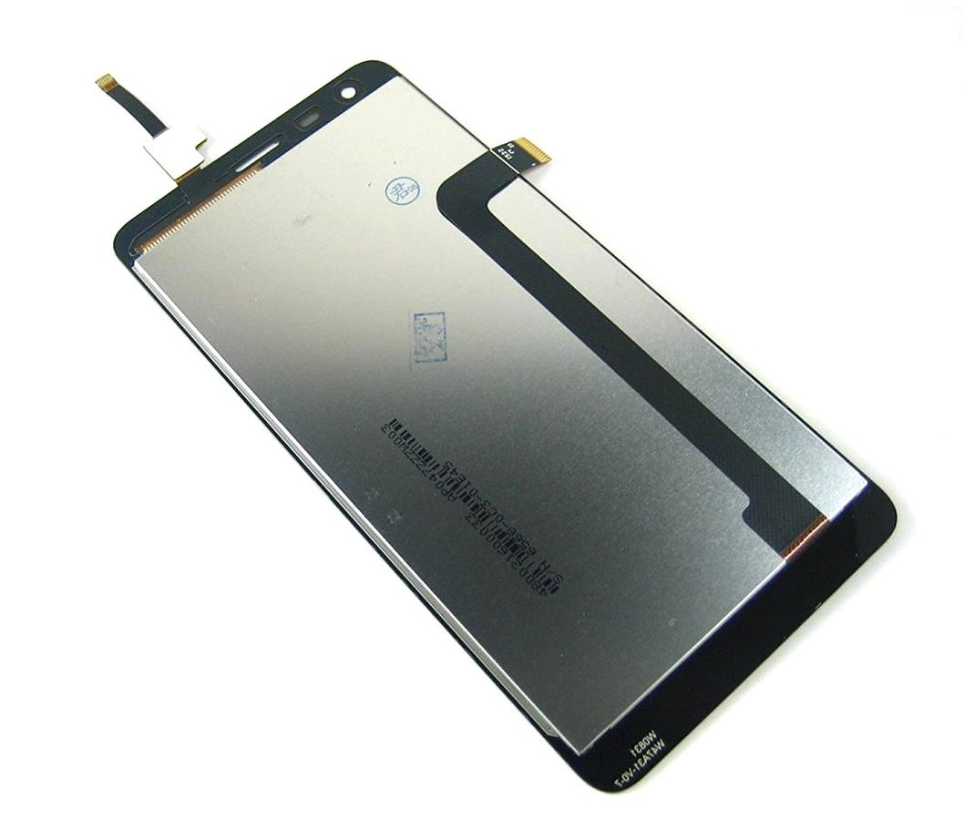 LCD with Touch Screen for Xiaomi Redmi 2 Prime - White (complete assembly folder)
