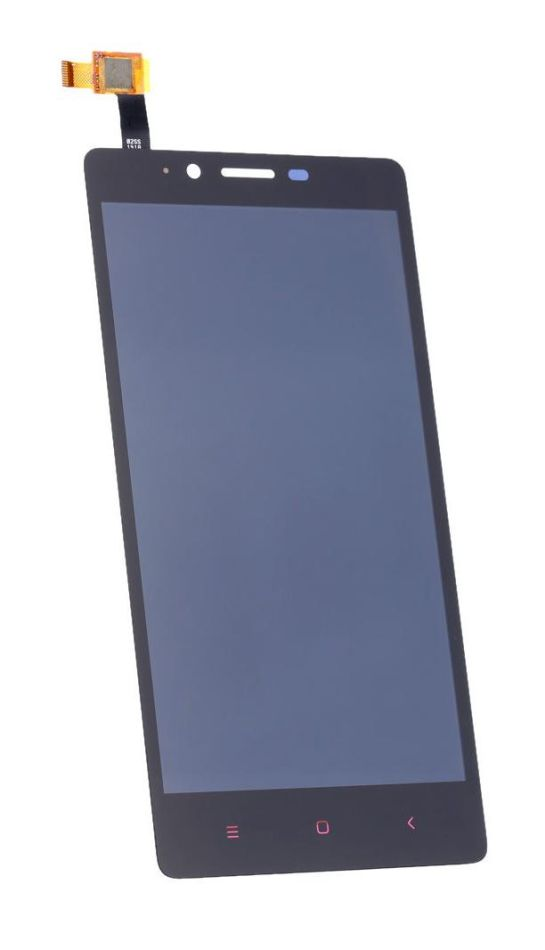 LCD with Touch Screen for Xiaomi Redmi Note 4G - Black (complete assembly folder)