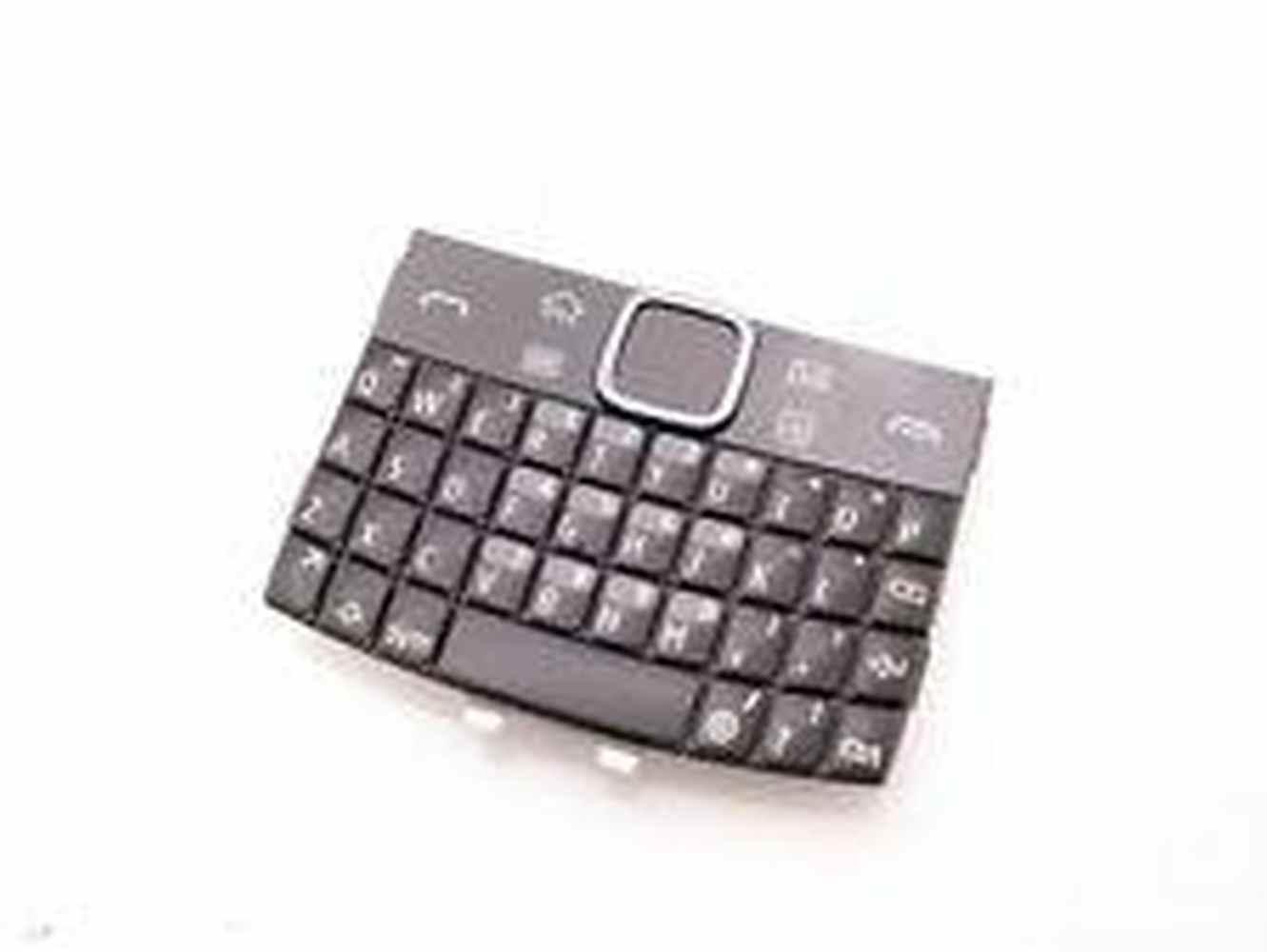Keypad For Nokia E6  Dark Gray and Black