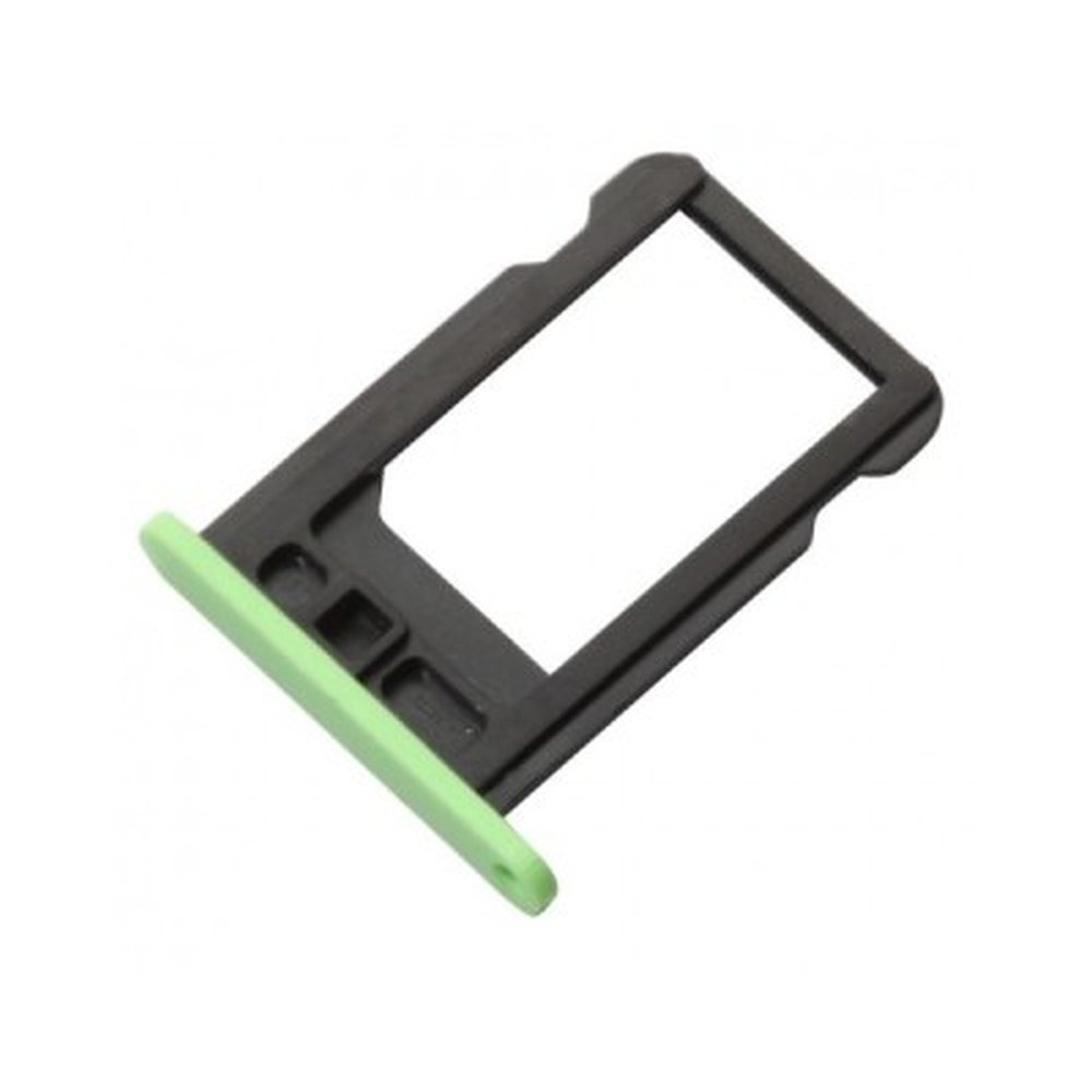check out aa00e 4c5cb SIM Card Holder Tray for Apple iPhone 5c - Green