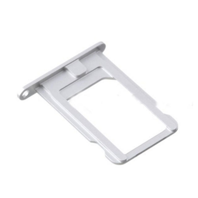 wholesale dealer 4c203 c9a2b SIM Card Holder Tray for Apple iPhone 5s - Silver