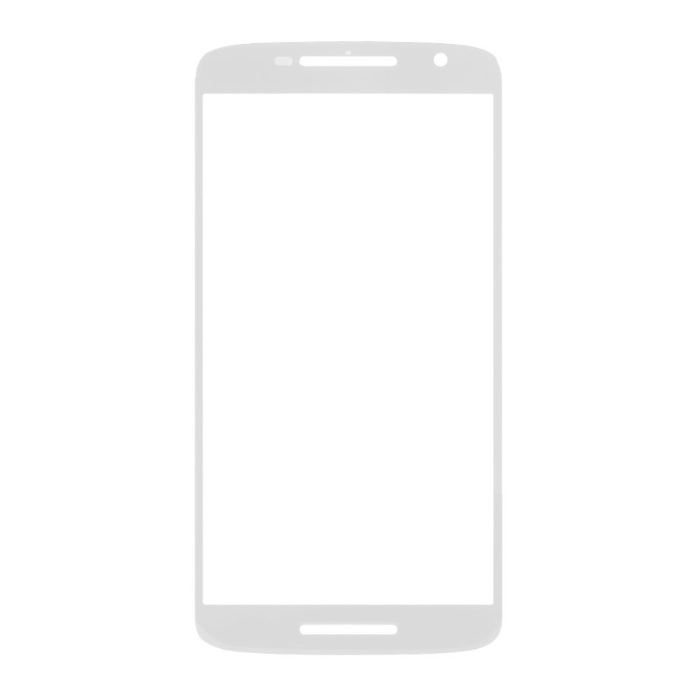 Replacement Front Glass For Motorola Moto X Play 16gb White By - Maxbhi Com