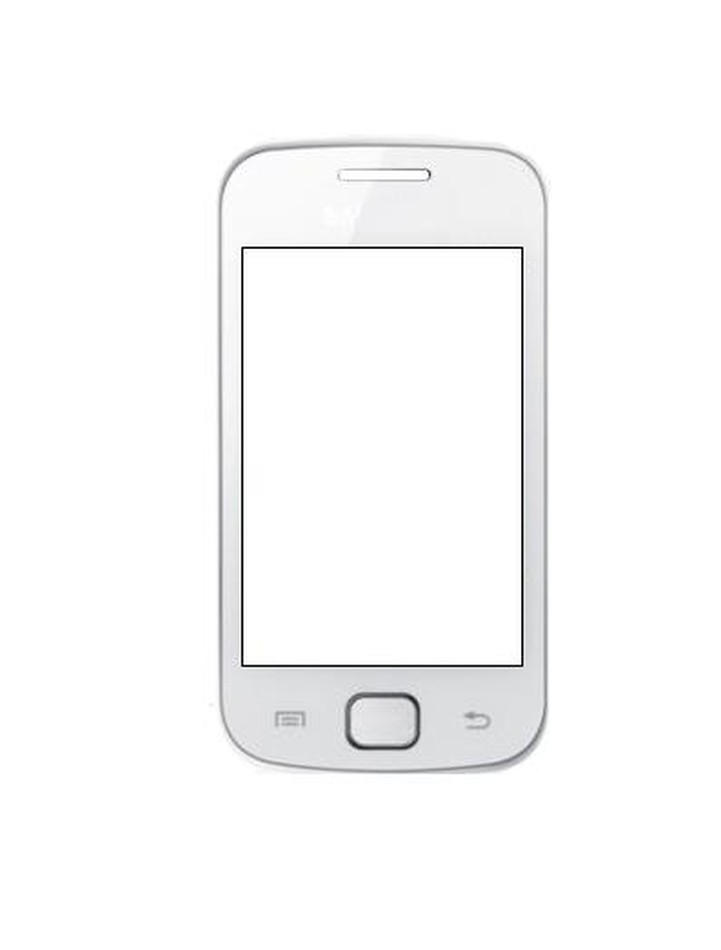 Replacement Front Glass For Samsung Galaxy Gio S5660 White By - Maxbhi.com