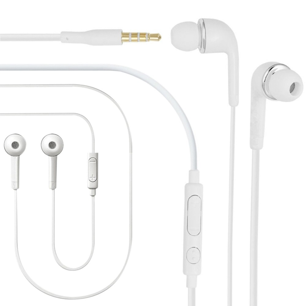 Earphone for Xiaomi Redmi Note 5 Plus - Handsfree, In-Ear Headphone, White