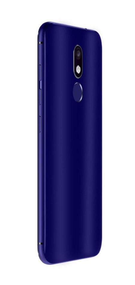 classic fit d6287 b461d Back Panel Cover for Micromax Selfie 3 E460 - Blue