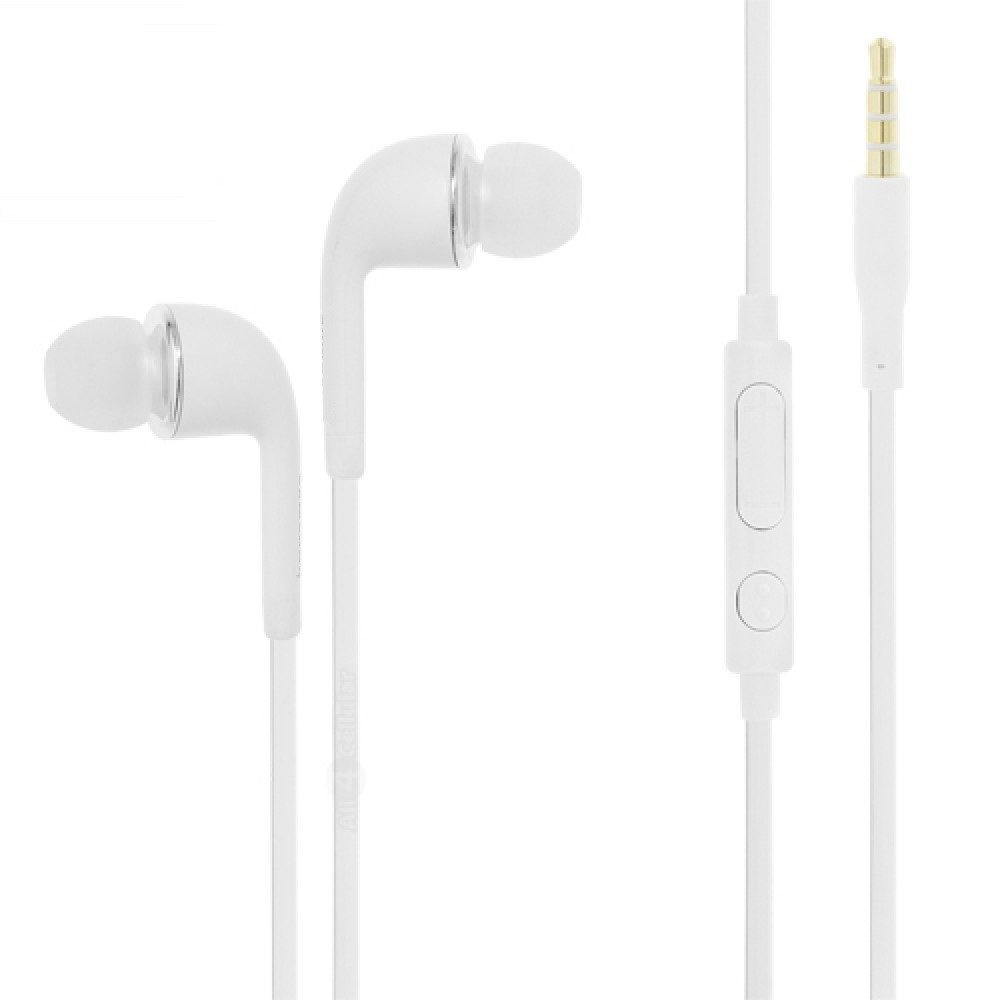 Earphone for Huawei Y6II Compact - Handsfree, In-Ear Headphone, White
