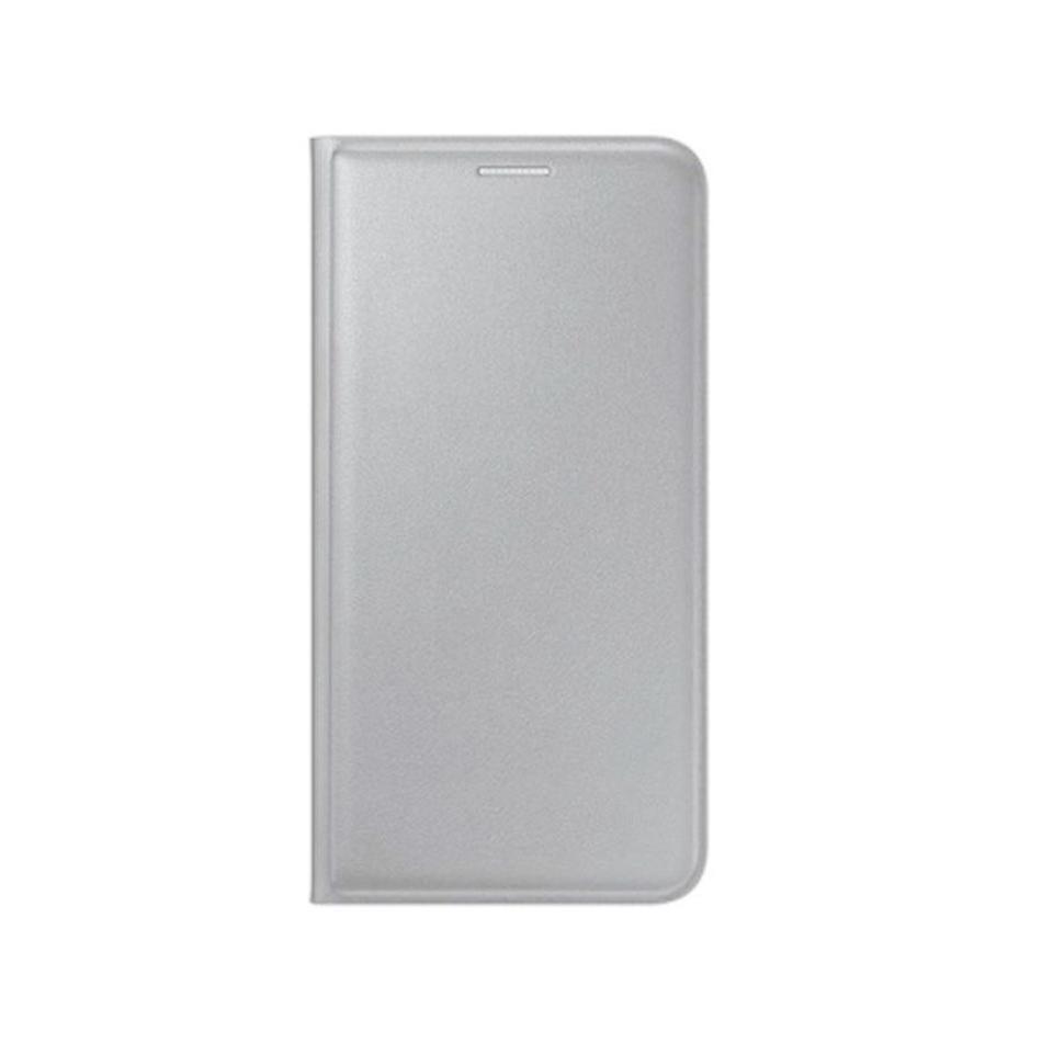 Flip Cover For Samsung Galaxy J2 Prime Silver By - Maxbhi.com