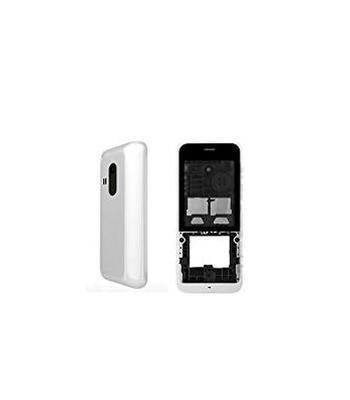 Housing For Nokia 220 Dual Sim Rm969 White - Maxbhi Com