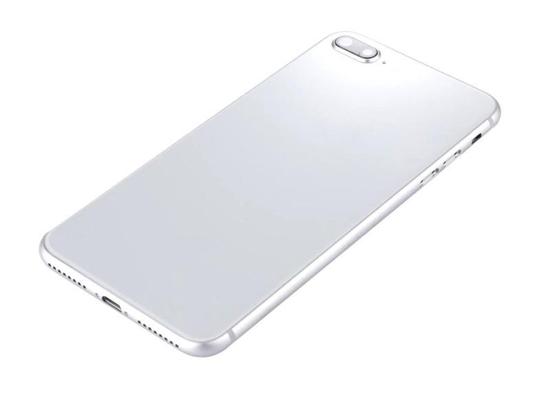 Full Body Housing For Apple Iphone 8 Plus Silver - Maxbhi Com