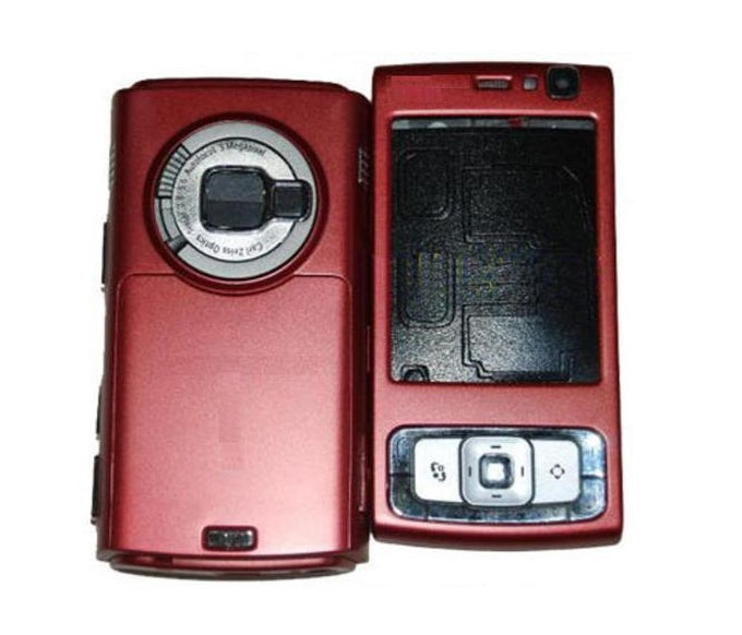 N95 Nokia Full Body Red - Housing For