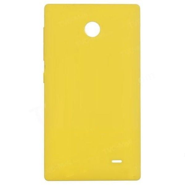 sale retailer 958a5 9d469 Back Panel Cover for Nokia X2 Dual SIM - Yellow