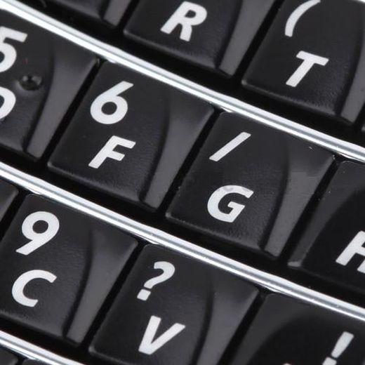 Keypad For Blackberry Bold 9700 Black - Maxbhi Com