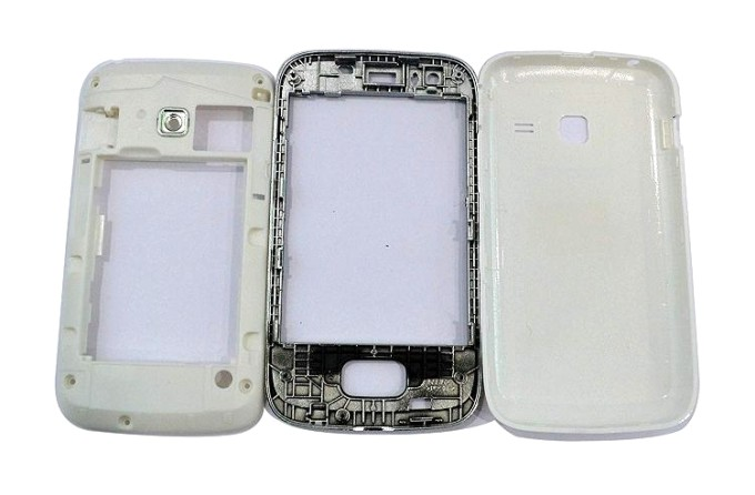 Full Body Housing For Samsung Galaxy Y Duos S6102 White - Maxbhi Com