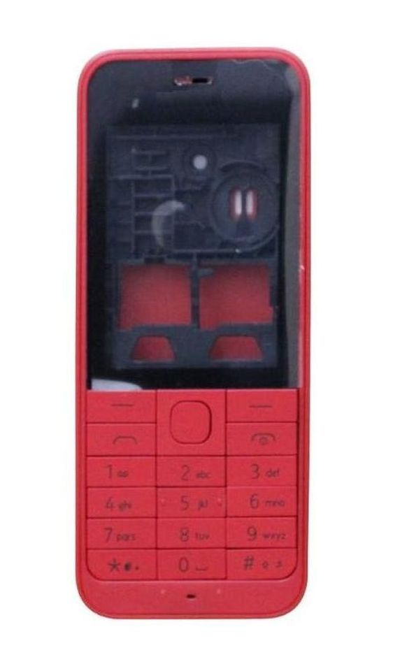 Full Body Housing For Nokia 220 Red - Maxbhi Com