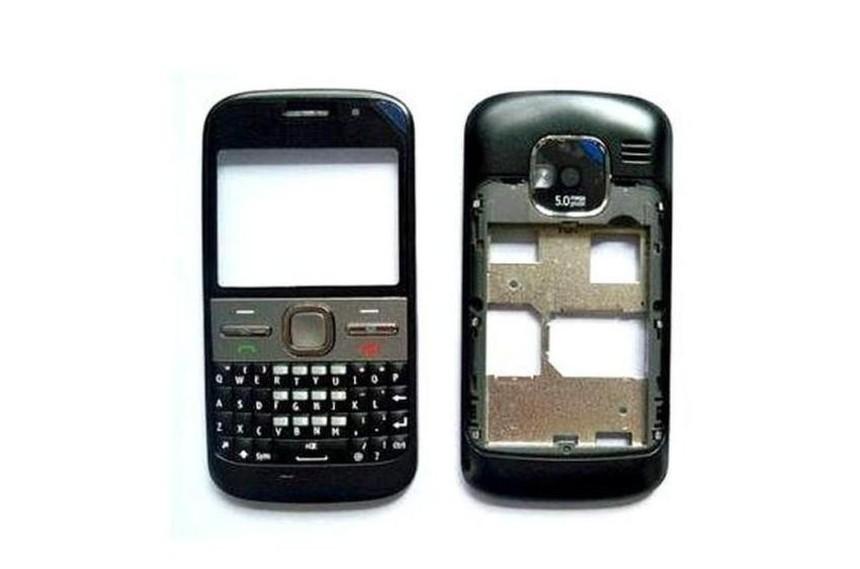 Full Body Housing For Nokia E5 Black - Maxbhi Com