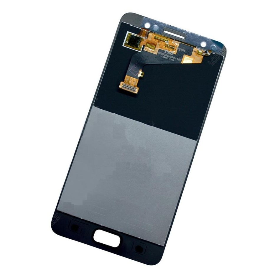 LCD with Touch Screen for Tecno i3 Pro - White (display glass combo folder)
