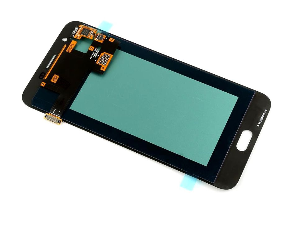 Lcd With Touch Screen For Samsung Galaxy J7 Duo Black By - Maxbhi Com