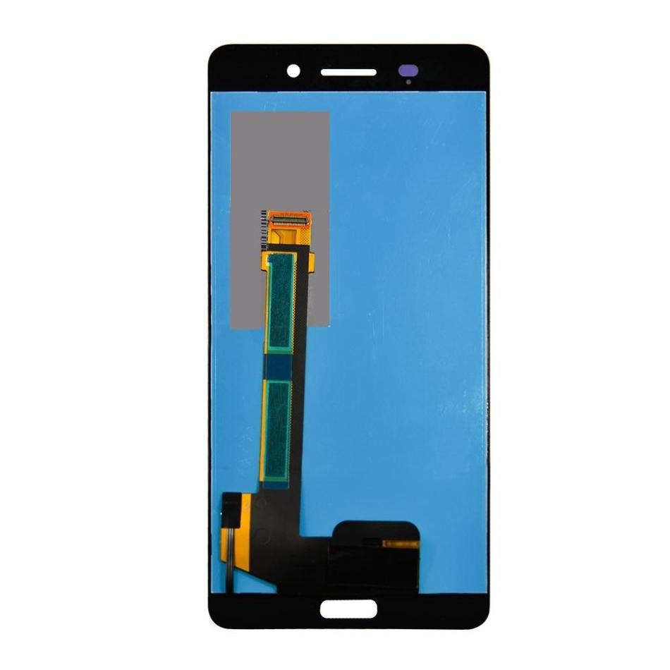 Lcd With Touch Screen For Nokia 6 Silver By - Maxbhi Com