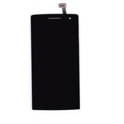 Lcd With Touch Screen For Oppo Find 5 Mini R827 Black By - Maxbhi Com