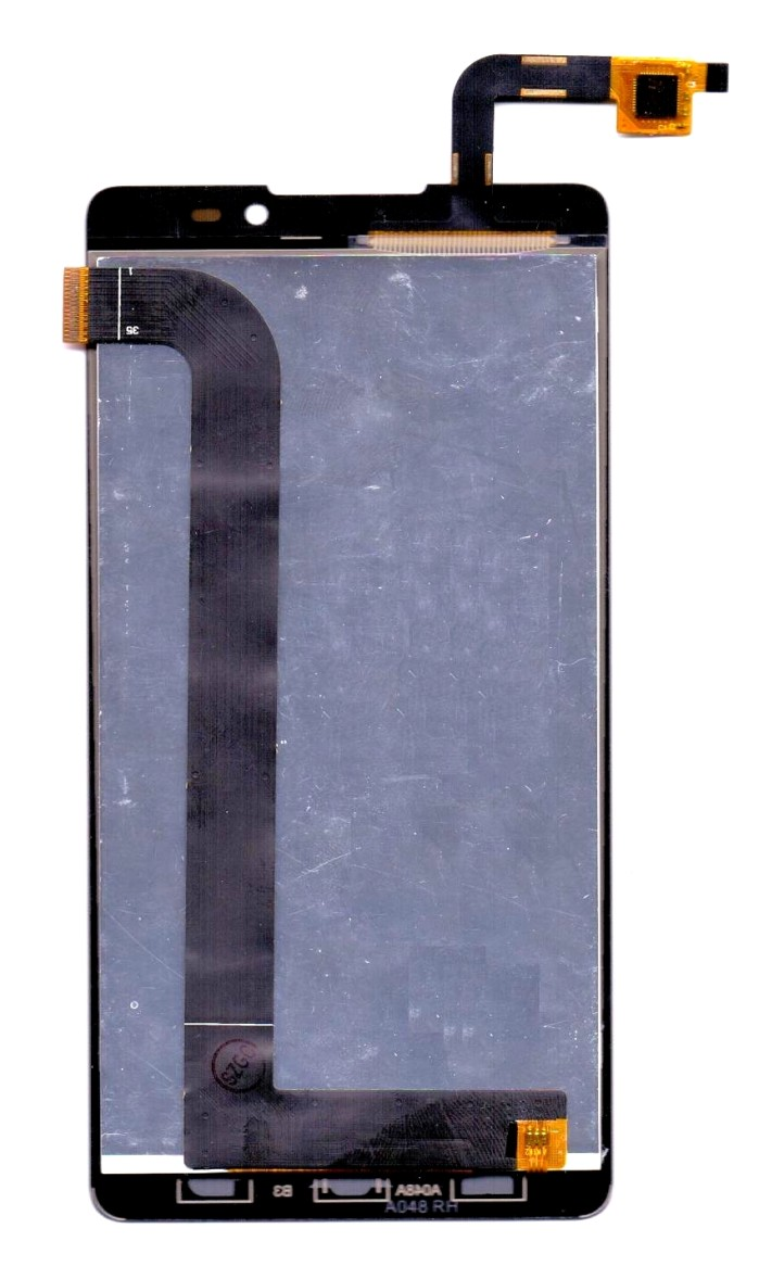 Lcd With Touch Screen For Panasonic P81 Black By - Maxbhi Com